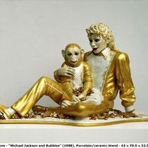 Michael Jackson And Bubbles (1988)