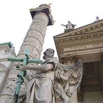 Statues de l'église St Charles Borromée-Vienne (?)
