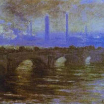 London The Waterloo Bridge (1903)