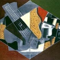 Guitare et verre (1917)