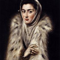 Dame à la fourrure de lynx (1577-80)