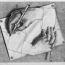 Drawing hands (1948)