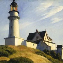 The Lighthouse at Two Lights, (1929)