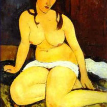 Seated Nude (1917)