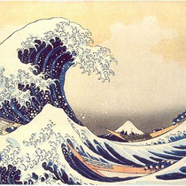 La grande vague de Kanagawa (1831)