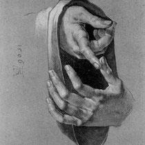 Etude de mains (1506)