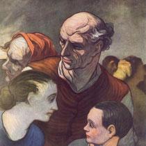 Famille sur les barricades (1848)