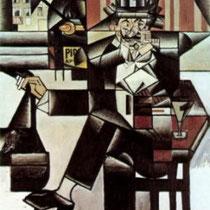 Homme dans un café (1912)