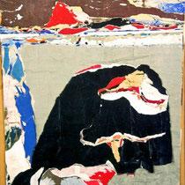 Roi nègre tirant la langue devant les Pas-de-Calais (1968)