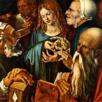Jésus au milieu des docteurs de la loi (1506)
