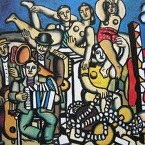 Acrobates et Musiciens (1945)