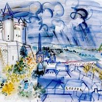 Le chateau de Saumur (1937)