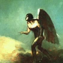 L'Homme Ailé (L'Ange Déchu) (1890-1895)