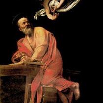 Saint Matthieu et l'Ange (1602-1603)