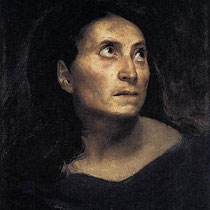 Head of a Woman (1823)