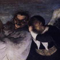 "Crispin et Scapin"" dit aussi ""Scapin et Sylvestre"" (1858)"