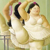 Danseuse à la barre (2001)