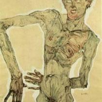 Autoportrait debout (1910)