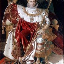 Napoléon Ier sur le trône impérial (1806)