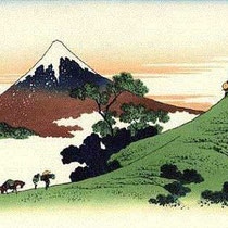 Mount Fuji from Inume Pass (1831-1834)