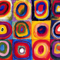 Squares with Concentric Circles (1913)
