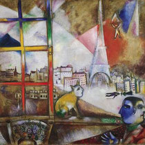 Paris Through the Window (1913)