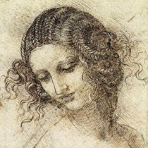 Study for the head of leda (?)