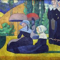 Les bretonnes aux ombrelles (1892)