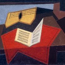 Guitare et papier à musique (1926)