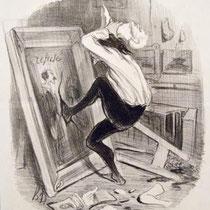 """Ingrate patrie, tu n'auras pas mon oeuvre!"" (1840)"