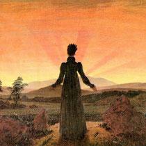 Femme dans le soleil du matin (1818)