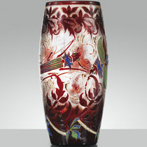 Vase cigale et lucane (vers 1890)