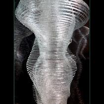 Ring (détail) - vitrine de 27/27/70 cm, insérée dans une colonne de 28/28/230 cm