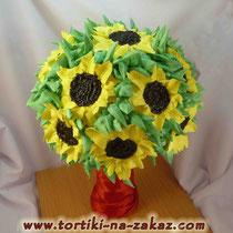 Дарите женщинам цветы! Букет сладких роз растопит любое сердце...