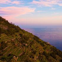 Cinque terre - the mountains.