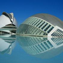 Valencia Ciudad de las Artes y Sciencias - The eye