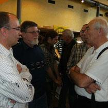 Als AKZ Vorsitzender präsent auf der  Falkenberger Boerse