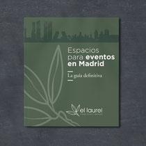 Diseño de cubiertas para la Guía para Eventos en Madrid