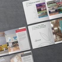 Diseño y maquetación de Guía para Eventos en Madrid. 80 páginas.
