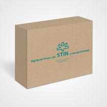 Caja contendora regalo promoción Verano
