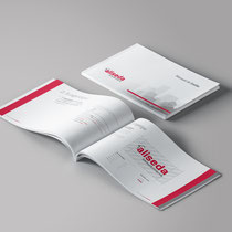 Diseño y creación del Manual de Identidad Corporativa Aliseda. 88 páginas.