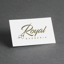 Creación del logotipo Royal Barberia