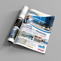 Página de publicidad del Centro Comercial Fuensanta.
