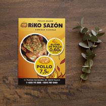 Flyer RiKo Sazón
