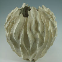 Fluted Vase