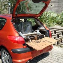 carrello , stufa e rampetta sono caricati , la macchina si può chiudere .Quali altri saliscale potevano fare questo?
