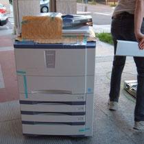 la fotocopiatrice sballata