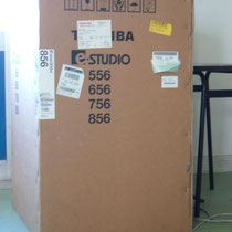 fotocopiatrice Toshiba ,dimensioni 700 x 800 x 1180 , peso 203 Kg