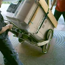 fotopiatrice e carrello UNIVAR