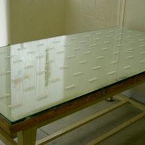 ばんそうこう 2005 木版画(空摺り) 和紙